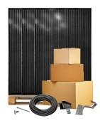 Glas/glas 300Wp zonnepanelen pakketten veilig online kopen