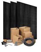 Panasonic HIT 330W zonnepanelen pakketten met omvormer naar keuze