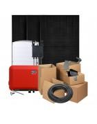 Zonnepanelen pakketten met Trina Solar Honey Black 320W panelen en een omvormer naar keuze met of zonder optimizers. Inclusief alle nodige onderdelen.