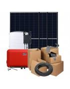 Zonnepanelen pakketten met Trina Solar Honey 340W panelen en een omvormer naar keuze met of zonder optimizers. Inclusief alle nodige onderdelen.