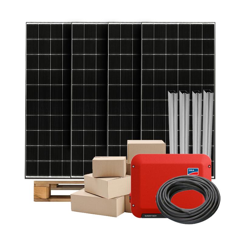 Zonnepanelen pakket op maat met LG Neon2 365W zonnepanelen