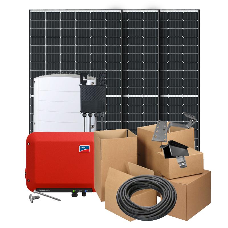 Zonnepanelen pakket op maat met Trina Solar Honey 370W zonnepanelen