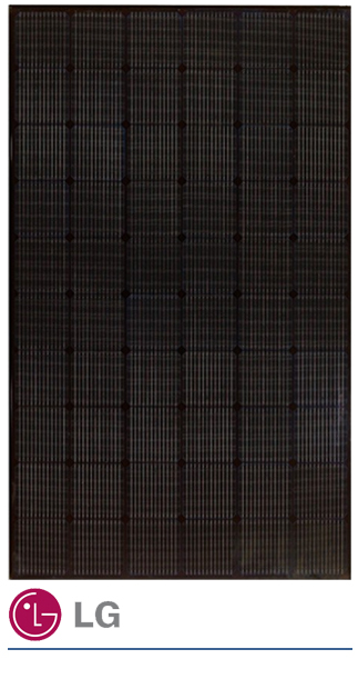 LG 335W neon black zonnepaneel