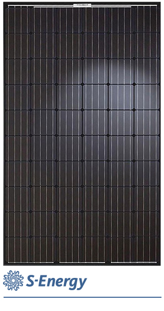 s-energy mono300W zonnepaneel