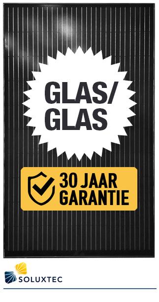 soluxtec glas/glas300W zonnepaneel