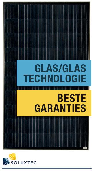 soluxtec glas/glas320W zonnepaneel