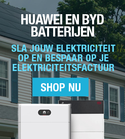 batterijen voor zonnepanelen