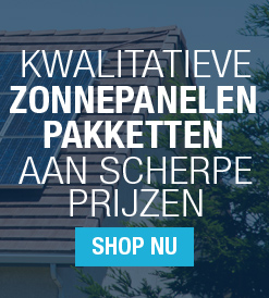 Solarwinkel is de webshop voor zonnepanelen pakketten
