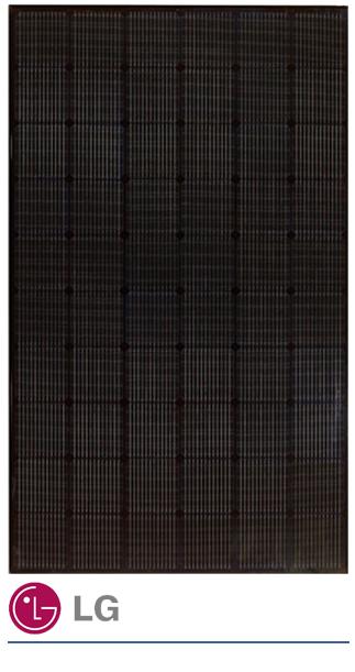 LG 330W neon2 black zonnepaneel